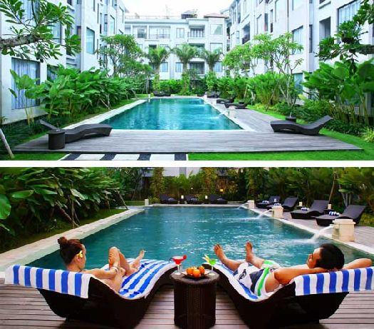 Если на Бали Вас застал дождь - бассейн отеля станет палочкой-выручалочкой