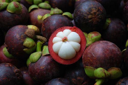 Спелый мангостин не твёрдый, но и не пластичный, при надавливании он должен слегка пружинить