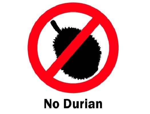 В Индонезии даже существует специальный знак, предупреждающий о запрете дуриана в том или ином месте