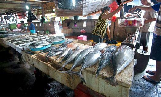 Джимбаран - крупнейший рыбный рынок острова