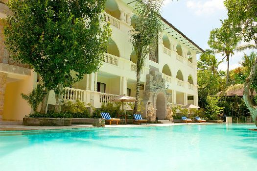 Бассейн при отеле ''Ayung Resort Ubud''