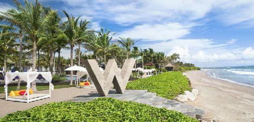 Отель ''W Retreat & Spa Bali'' с собственным пляжем