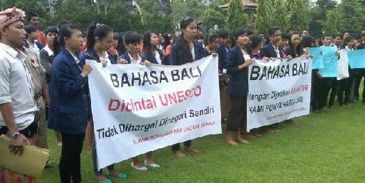 На Бахаса Бали говорят не только в пределах острова