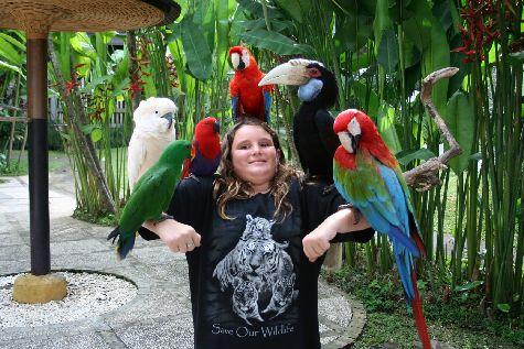 На Бали есть множество прекраных природных парков