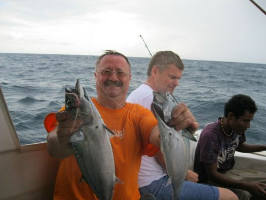 Рыбалка на Бали - вот как выглядят трофеи троллинговой рыбалки ($40 с носа)