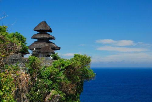Храм Улувату - одним из шести основных храмов Бали