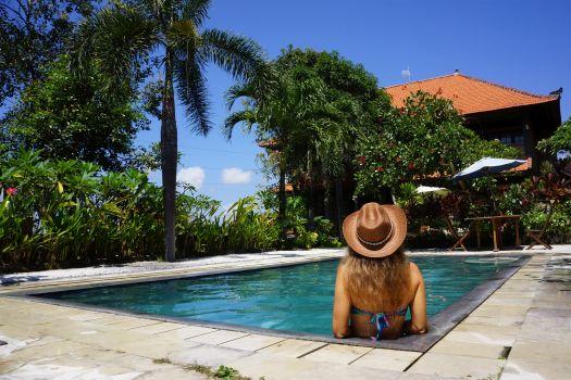 Отель Hidden Sanctuary Resort and Villas на курорте Сантур, остров Бали