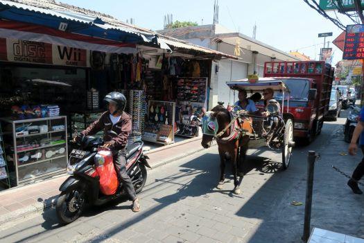 Транспорт на Бали - автобусы, такси, авто, конные повозки докар