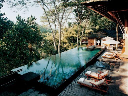В Убуде находится известный на весь мир отель Como Shambhala Estate