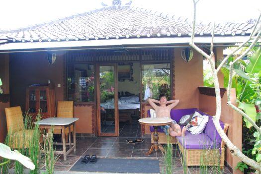 Пример небольшой виллы в Убуде (Villa Devis)